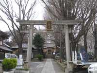 上田端八幡神社鳥居