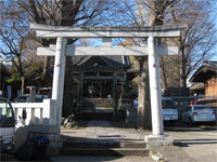 滝野川八幡神社鳥居