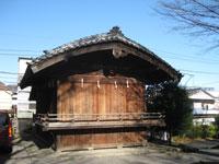 滝野川八幡神社神楽殿