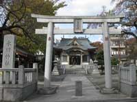 浮間氷川神社鳥居