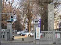 平塚神社石門
