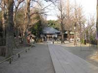 平塚神社参道