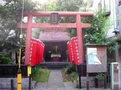 黒船稲荷神社鳥居