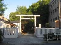 東砂天祖神社鳥居