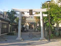 中田稲荷神社鳥居