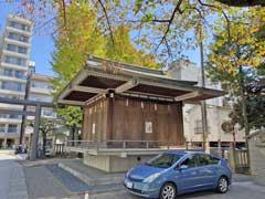 亀戸香取神社神楽殿