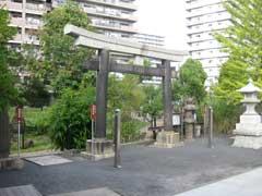 亀戸浅間神社石造鳥居