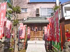 亀森稲荷神社