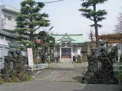 亀高神社外観