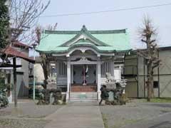 亀高神社拝殿