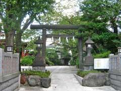 東大島神社鳥居