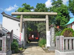 大島稲荷神社鳥居