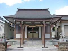 亀出神社拝殿