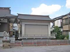 亀出神社神楽殿