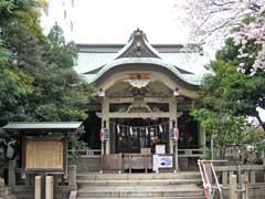 猿江神社拝殿