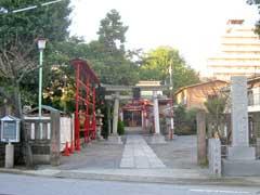 富賀岡八幡宮鳥居