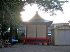 富賀岡八幡宮神楽殿