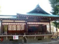 中目黒八幡神社神楽殿