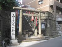 上目黒氷川神社鳥居