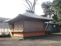 上目黒氷川神社神楽殿