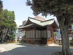 大鳥神社神楽殿