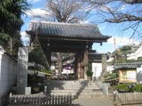 常円寺山門