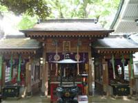 豊川稲荷東京別院三神殿