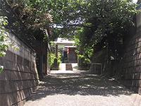 南台寺参道