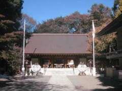乃木神社拝殿