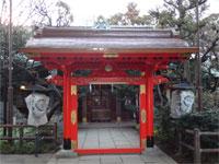 愛宕神社丹塗の門