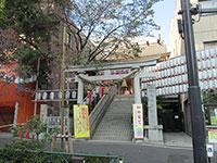 十番稲荷神社鳥居