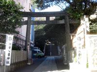 御田八幡神社鳥居