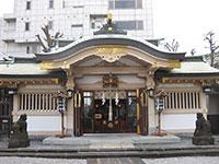 高輪神社社殿