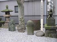 高輪神社力石