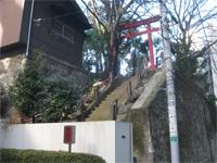 葺城稲荷神社鳥居