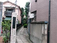 等覚寺入口