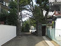 大安寺入口