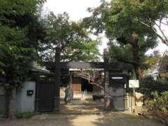 密蔵院山門