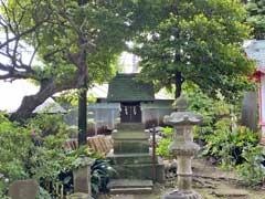 新井天神北野神社力石