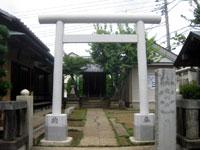明徳稲荷神社鳥居