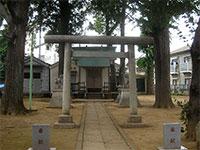 中野天祖神社鳥居