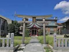 須賀稲荷神社鳥居