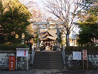 江古田氷川神社鳥居