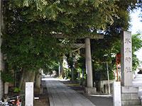 中野氷川神社鳥居