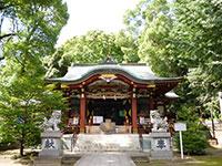 中野氷川神社拝殿