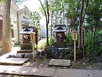 境内社北野神社・御嶽神社