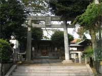 本郷氷川神社鳥居