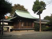 本郷氷川神社神楽殿