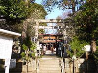 片山北野神社鳥居