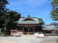 沼袋氷川神社社殿